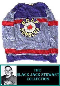 ANSPORTS  1943-44 Authentic Royal Canadian Air Force Jersey Royal ... e9cba3c5ff3